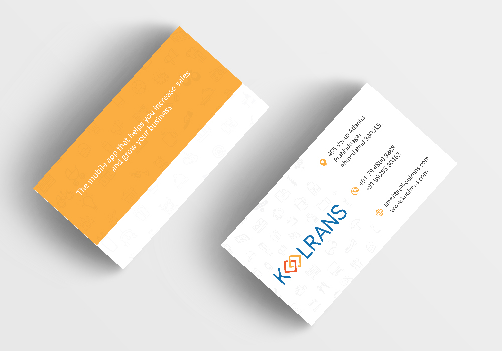 Business card design aaryan apps technology it services your corporate identity is the mirror of your business image your business card is not just another piece of paper it reflects who you are and what your colourmoves