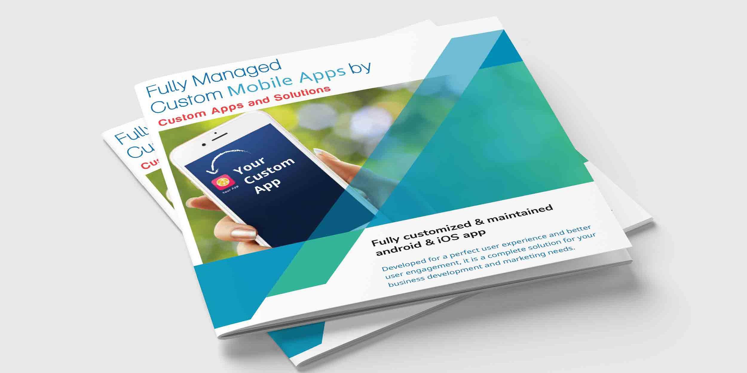 Brochure Design – Aaryan Apps – Technology & IT Services